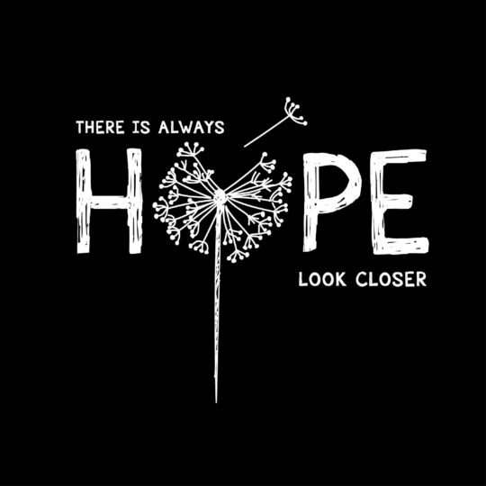 there is always hope look closer
