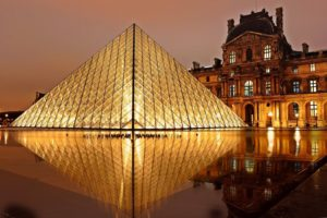 The Louvre in France